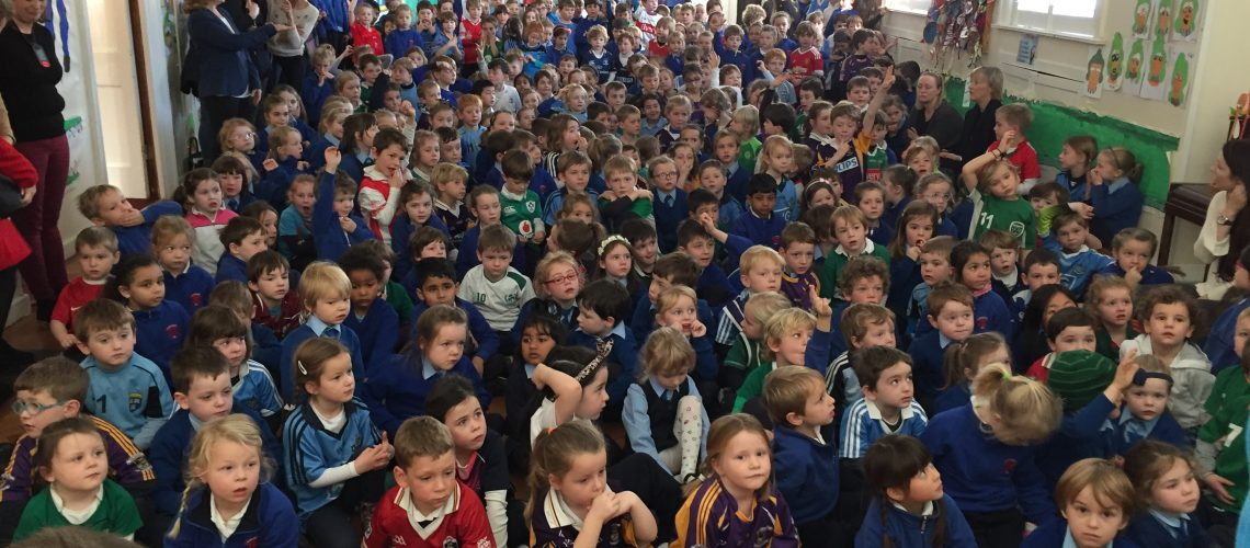 Whole school assembly photo