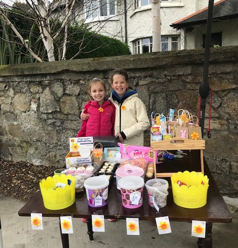 Carysfort National School Daffodil Day Stall