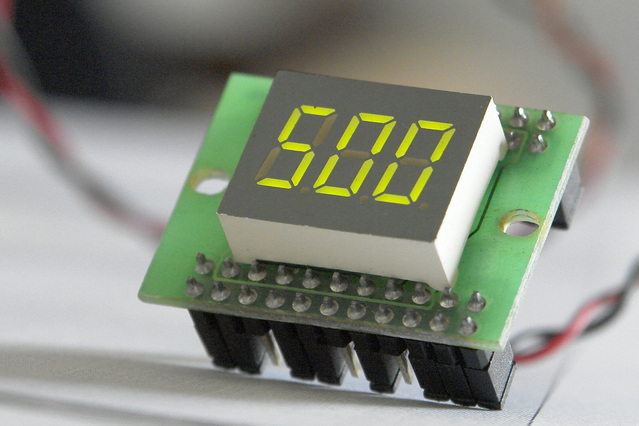 STEM digital clock